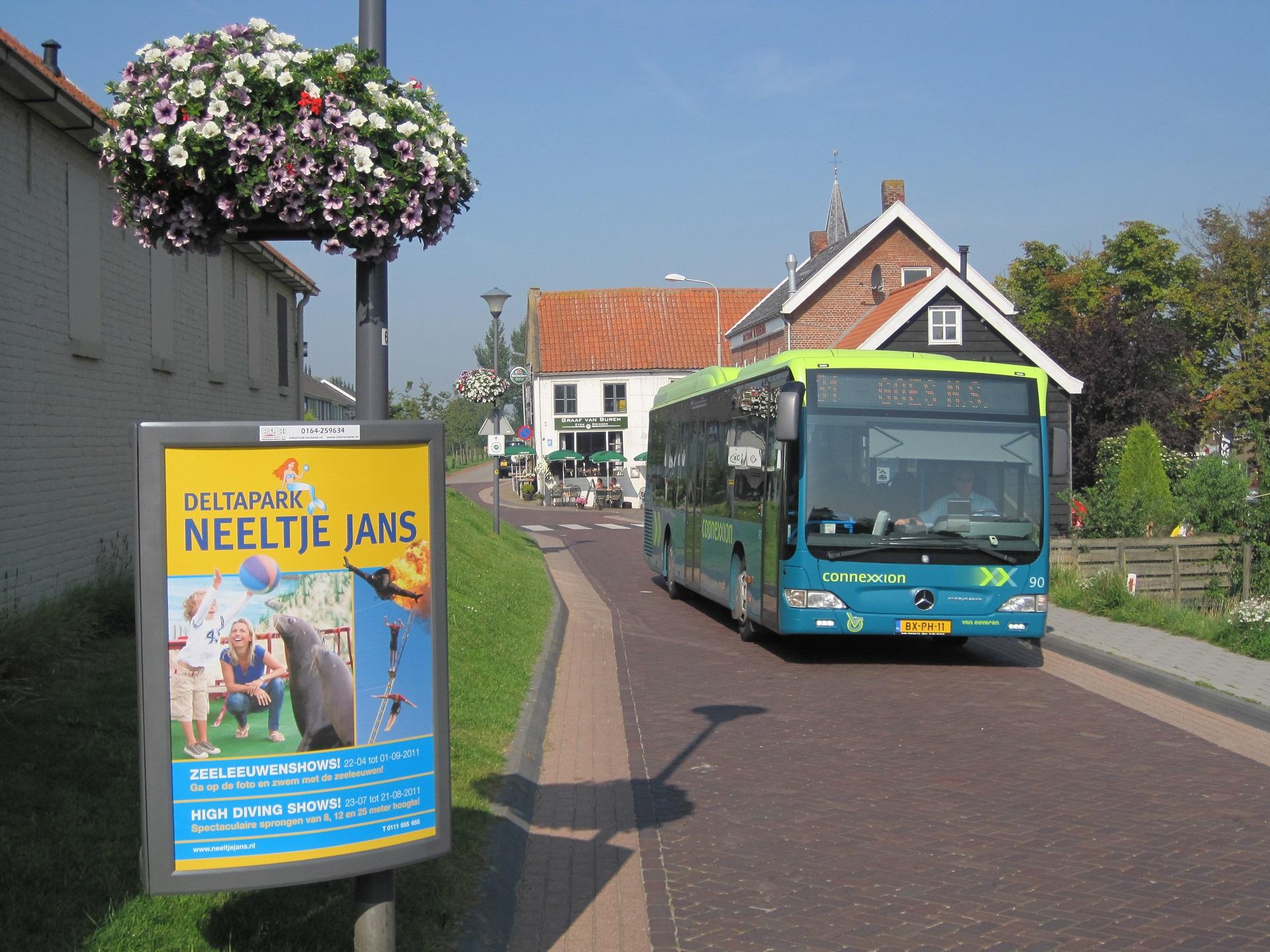 Outdoor reclame Bergen op Zoom